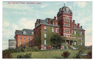 Worcester, Mass, Odd Fellows Home