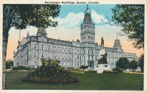 Parliament Buildings - Quebec QC, Quebec, Canada - WB