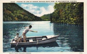 Southwest Virginia Lake Fishing In Hungry Mother State Park