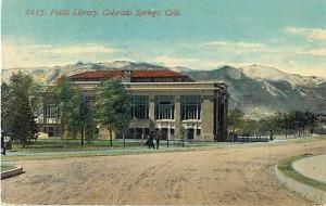 D/B Public Library Colorado Springs CO 1914