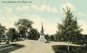 IN - Fort Wayne. Lawton Monument