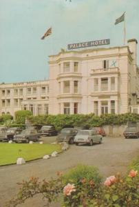 Palace Hotel Paignton Isle Of Wight Trust House 1970s Postcard