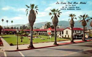California Santa Barbara La Casa Del Mar Motel