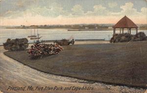 11543 ME   Portland Fort Allen Park and Cape Shore