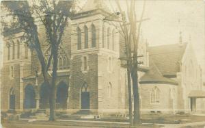 Glens Falls New York~New United Methodist Episcopal Church~Rotunda~RPPC 1906 UDB