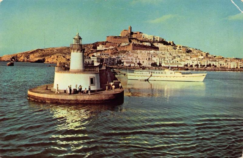 Postcard The Town, In The Foreground, Martillo IBIZA Spain