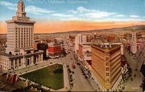 California Oakland City View