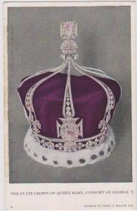 The State Crown of Queen Mary, Consort of George V, 1911 Coronation, Museum o...