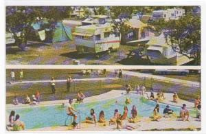 Cozy Grove Trailer Campground Davenport Florida postcard