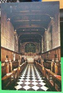 England The Tunstal Chapel Durham Castle - unposted