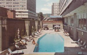Swimming Pool, Martinique Hotel Motor Inn, Montreal, Quebec, Canada, 40-60s