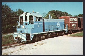 Railroad ~ Lancaster and Chester Railway's Number 91 1965 - Chrome1950s-1970s