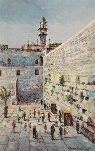 ISRAEL , 50-60s ; Wailing Wall