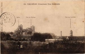 CPA VALREAS - Vue générale (511725)