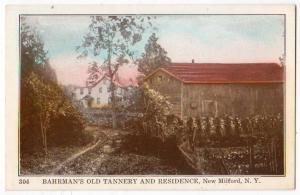 Bahrman's old Tannery & Residence, New Milford NY