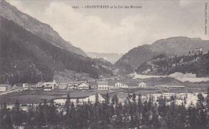ARGENTIERES (Seine Et Marne), France, 1900-1910s; Argentieres Et Le Col Des M...