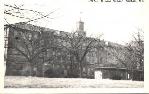 Maryland Elkton Middle School Real Photo