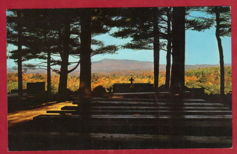 CATHEDRAL OF THE PINES , RINDGE, NEW HAMPSHIRE 1972  (197)