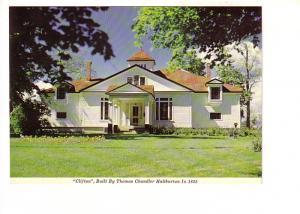 Clifton House, Thomas Chandler Haliburton, Windsor, Nova Scotia, The Book Room,