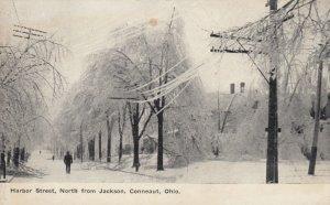 CONNEAUT, Ohio, PU-1910; Harbor Street, North from Jackson