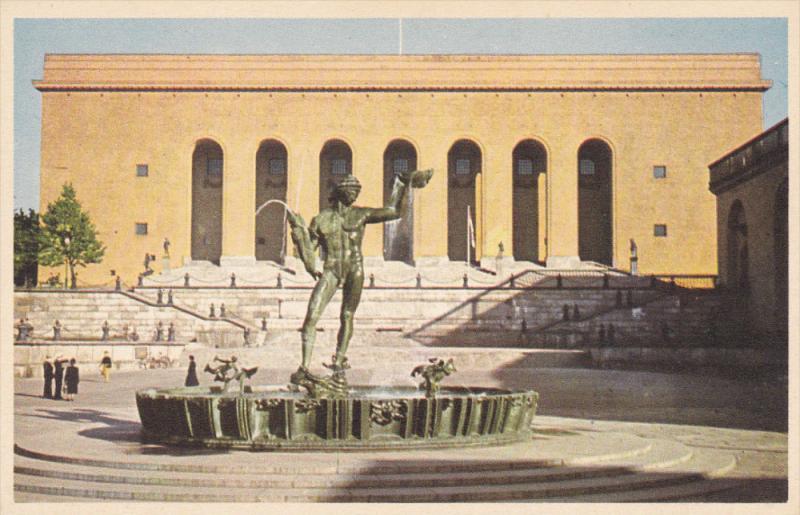 GOTEBORG, Gotaplatsen, Konstmuseet, Sweden, 30-50s