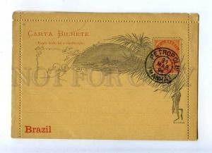 203294 BRAZIL Casa da Moeda PETROPOLIS 1891 year postcard