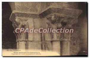 Postcard Old Saint-Bertrand-de-Comminges From Capitals Cloister With abacuses