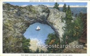 Arch Rock Mackinac Island MI Unused
