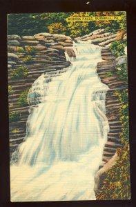 Bushkill, Pennsylvania/PA Postcard, View Of Winona Falls