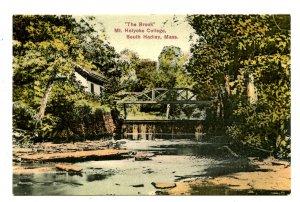 MA - South Hadley. Mt Holyoke College, The Brook