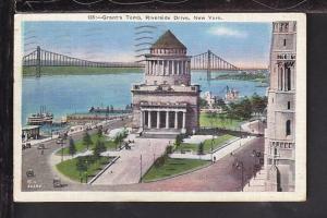 Grant's Tomb,Riverside Drive,New York,NY Postcard