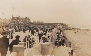 RP: Hornsea , Yorkshire , England ,00-10s ; Sea Wall