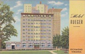 Virginia Richmond Hotel Rueger