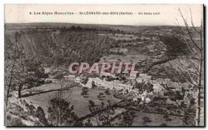St Leonard des Bois - A Beautiful Coin - Old Postcard