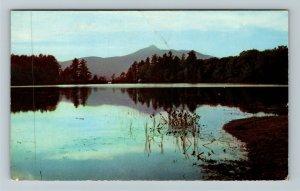 Chocorua NH- New Hampshire, Lake Chocorua, Twilight View, Chrome c1953Postcard