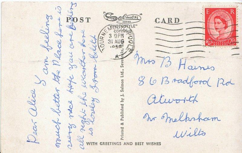 Genealogy Postcard - Family History - Haines - Near Melksham - Wiltshire  A4697