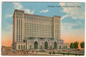 Detroit, Mich, Michigan Central Station