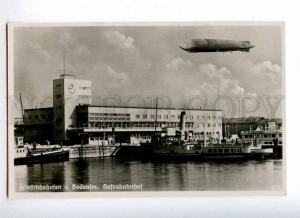 227096 GERMANY Friedrichshafen dirigible airship port photo