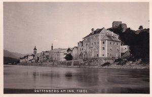 Rattenberg Am Inn Tirol Austria River Lake Postcard