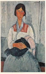 WASHINGTON DC , 50-60s ; National Gallery of Art ; Gypsy Woman with Baby