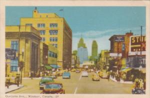 Canada Ontario Windsor Ouellette Avenue 1953