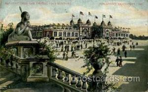Manufactures and Liberal art building Jamestown Exposition 1907, Postcard Pos...