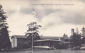 Washington Seattle Lutheran Bible Institute Artvue