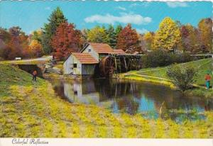 Canada Quebec Souvenir Mont-Louis Old Water Mill