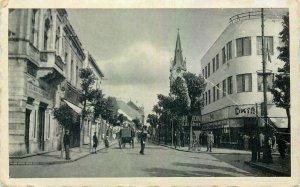 Postcard Slovakia Komarom Nador utca