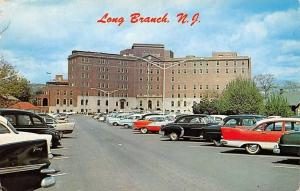 N.J. Long Branch, Monmouth Memorial Hospital, auto cars voitures 1966