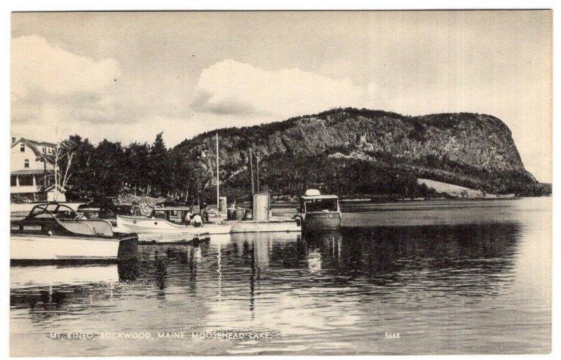 Mt. Kineo, Rockwood, Maine, Moosehead Lake