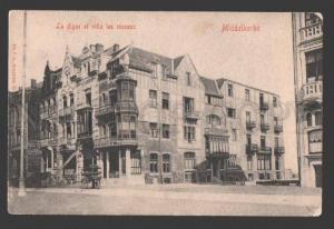 108843 Belgium MIDDELKERKE La digue et villa les oiseaux Old
