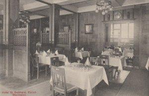ZURICH , Switzerland , 00-10s ; Hotel St. Gotthard , Weinsalon