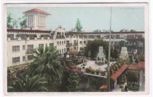 Patio Glenwood Mission Inn Riverside Los Angeles California 1910c postcard